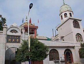 镇安县旅游景点 镇安县城清真寺高清图片
