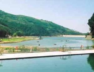 蓝田白马河生态园