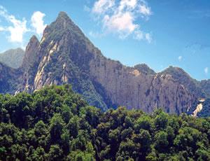 陕西少华山国家森林公园