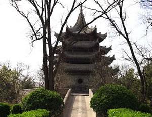 三原文峰木塔(中王堡塔)
