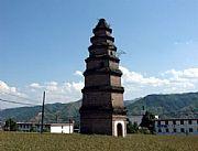 商州区旅游景点:商州东龙山双塔