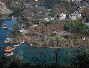 岚皋县旅游景点:龙爪子