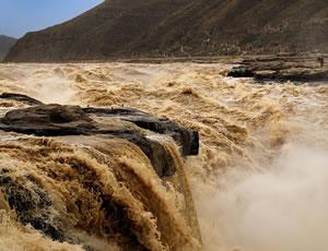 宜川壶口瀑布