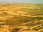 神木县旅游景点:毛乌素沙漠