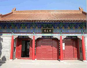 临潼区旅游景点:朝元阁