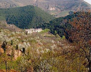 临潼区旅游景点:黄巢堡国家森林公园
