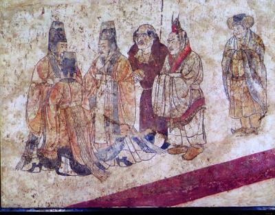 唐墓壁画馆6月在陕历博开放 可赏国宝级壁画
