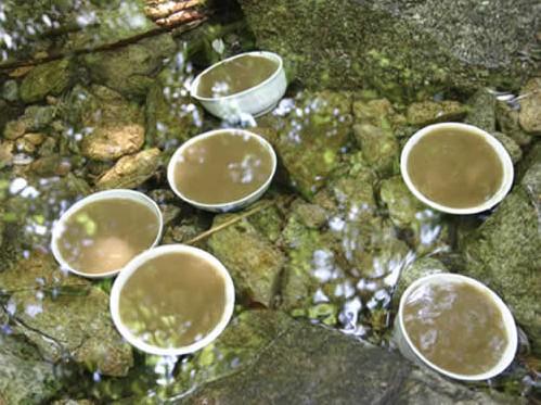 洛南寺坡橡子凉粉