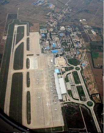 咸阳国际机场鸟瞰