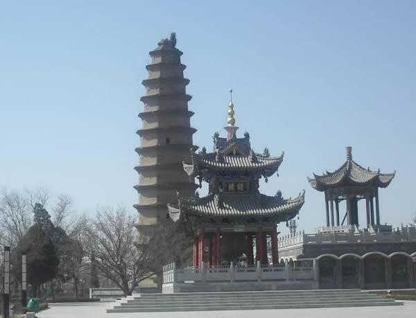 合阳千金塔_合阳县景点大全_渭南市旅游景点