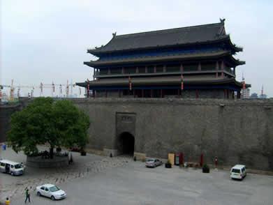 莲湖区安定门(西安城墙西门)