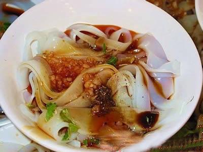 西安美食――卤汁凉粉(图)