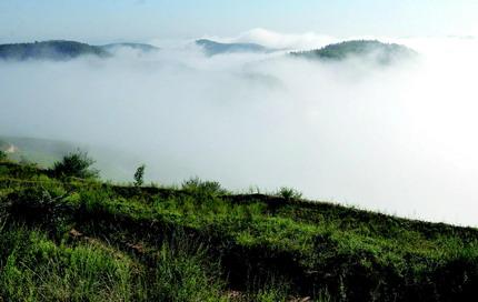 延安频现云海景观