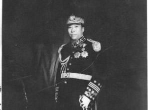 杨虎城将军亲笔签赠郭则沉照片