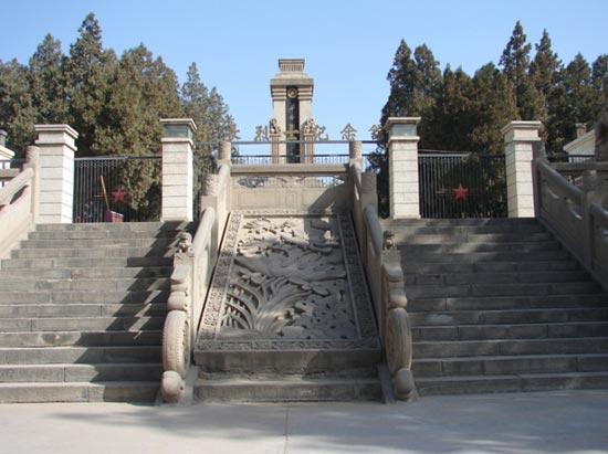 谢子长陵园[图]