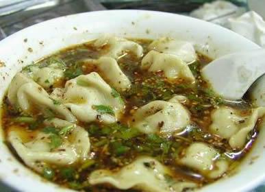陕西名小吃――酸汤水饺
