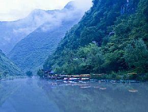 石泉汉江三峡