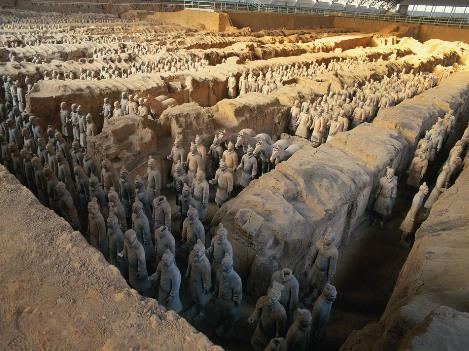 陕西全线游|秦兵马俑、华山、法门寺、延安、壶口瀑布五晚六日游