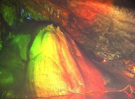 柞水溶洞[图]