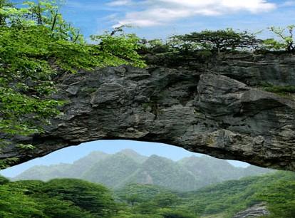 天生石桥[图]
