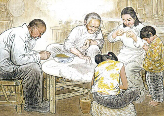 榆林年夜饭美食:那道熟悉的年菜[图]