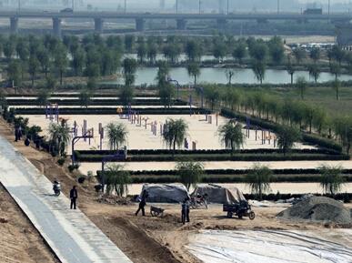 大荔洛河生态公园