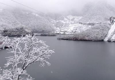 三大峡冬景