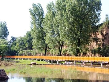 扶风县七星河湿地