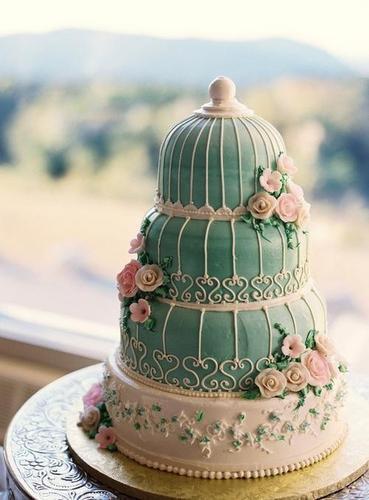创意翻糖蛋糕
