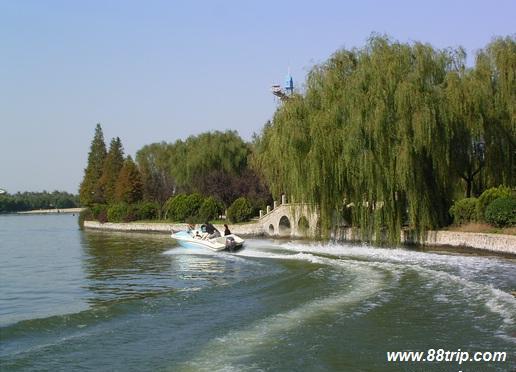 西安未央湖
